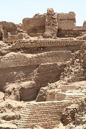 image of excavation on Elephantine Island