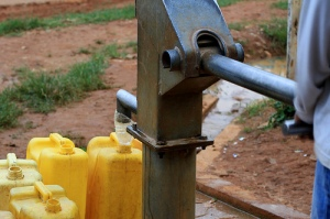 water pump in Rwanda photo cc Adam Cohn